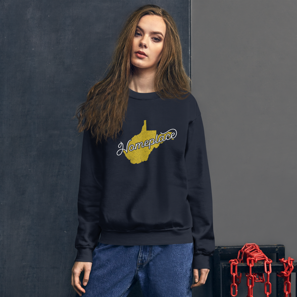 West Virginia 'Homeplace' Unisex Sweatshirt