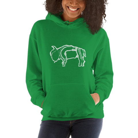 Buffalo Pride Hooded Sweatshirt