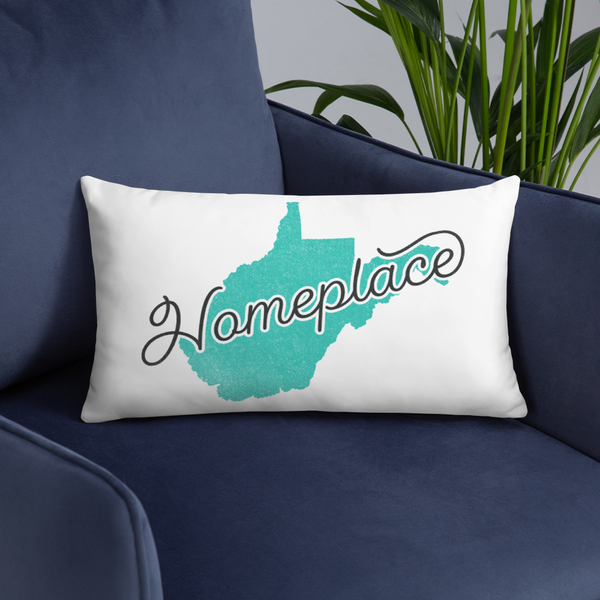 West Virginia 'Homeplace' Pillow