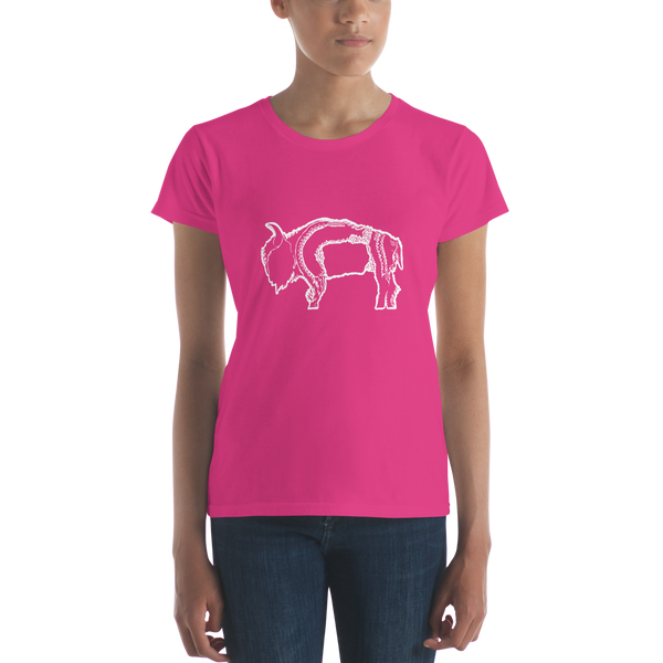 Buffalo Pride Women's Fitted Short Sleeve T-shirt