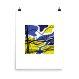 Abstract Appalachia Landscape Print