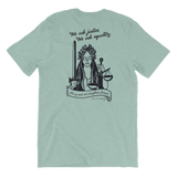 Lady Justice T-Shirt with WV Women Attorneys Badge