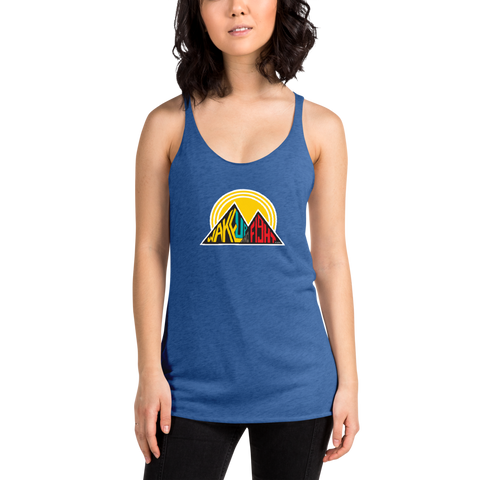 Wake Up and Fight Women's Racerback Tank