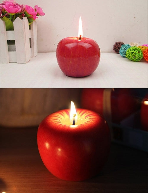Christmas Eve Apple Candle