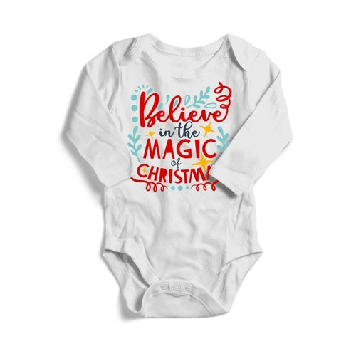 Believe in the Magic of Christmas Baby Long Sleeve
