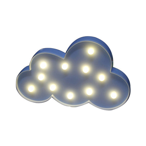 Decorative Party LED Cloud Night light Children's