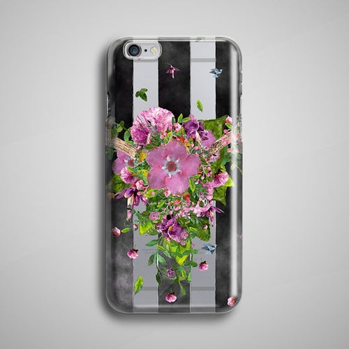 Flowers Clear iPhone X Case Transparent iPhone 6S