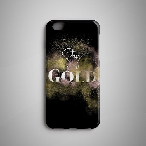 Stay Gold iPhone X Case iPhone 8 Plus Case Huawei