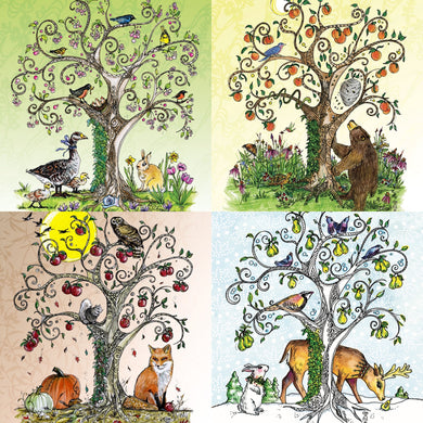 Tree of Life, Four Seasons Prints & Cards
