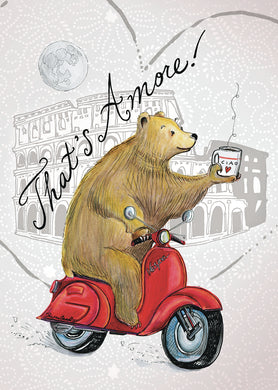 Bear That's Amore! card