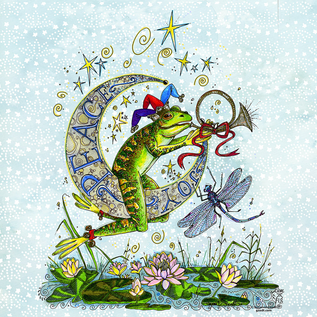 Frog & Moon for the Holidays
