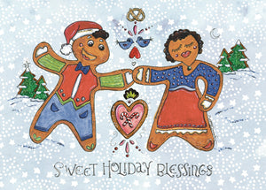 Gingerbread Holiday Card