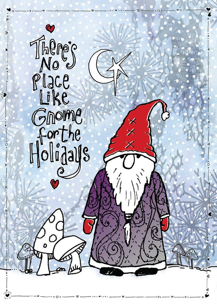 Gnome for the Holidays card