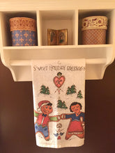 Load image into Gallery viewer, Gingerbread tea towel