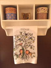 Load image into Gallery viewer, Peace & Joy Tea Towel