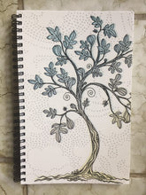 Load image into Gallery viewer, Fig Tree spiral notebook