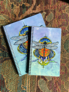 Celtic Dragonfly Notebook Journal
