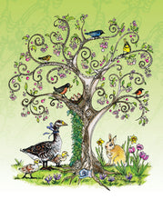 Load image into Gallery viewer, Tree of Life, Four Seasons Prints & Cards