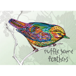 Bird Wren Card