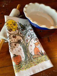Tree of Life Four Seasons Tea Towels