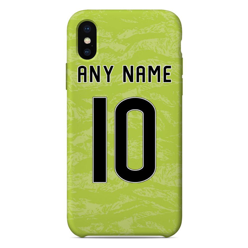 Aberdeen 2019/20 Goalkeeper Shirt Name & Number Personalised Phone Case
