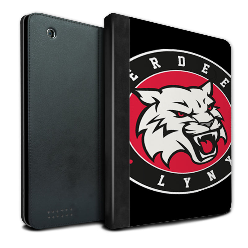Aberdeen Lynx Enlarged Logo Black iPad Case