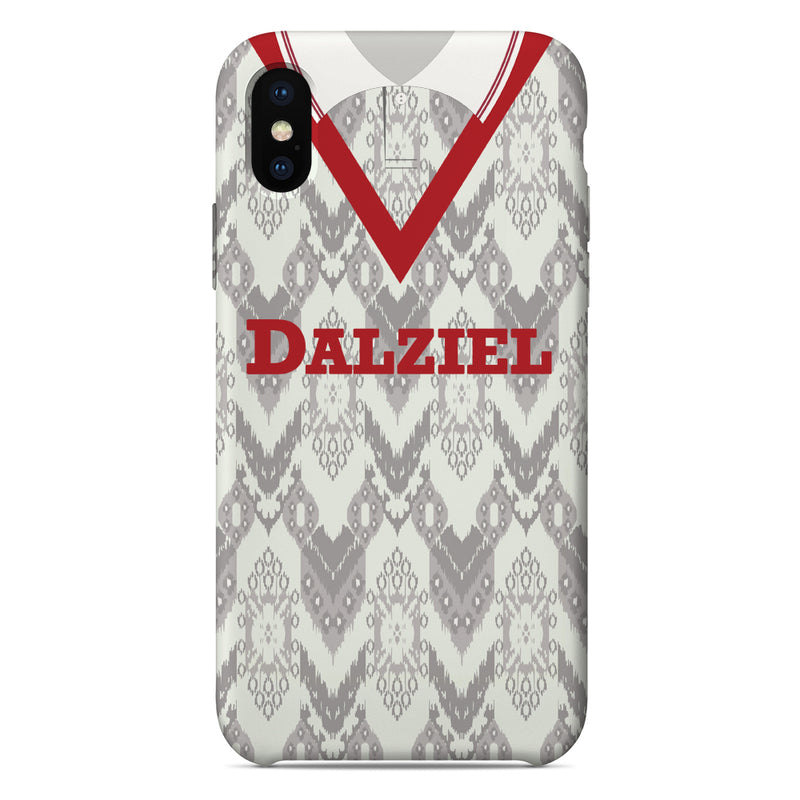 Airdrieonians 1992/93 Home Shirt Phone Case