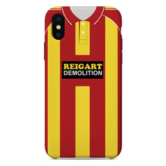 Albion Rovers 1983-85 Home Shirt Phone Case