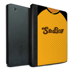 Alloa Athletic 1988-1990 Home Shirt iPad Case