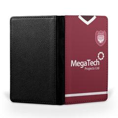 Arbroath F.C. 1992-94 Home Shirt Passport Case