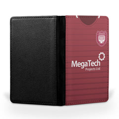 Arbroath F.C. 1984-86 Home Shirt Passport Case