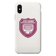 Arbroath F.C. Logo White Phone Case
