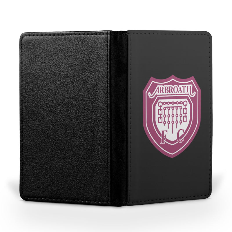 Arbroath F.C. Black Passport Case