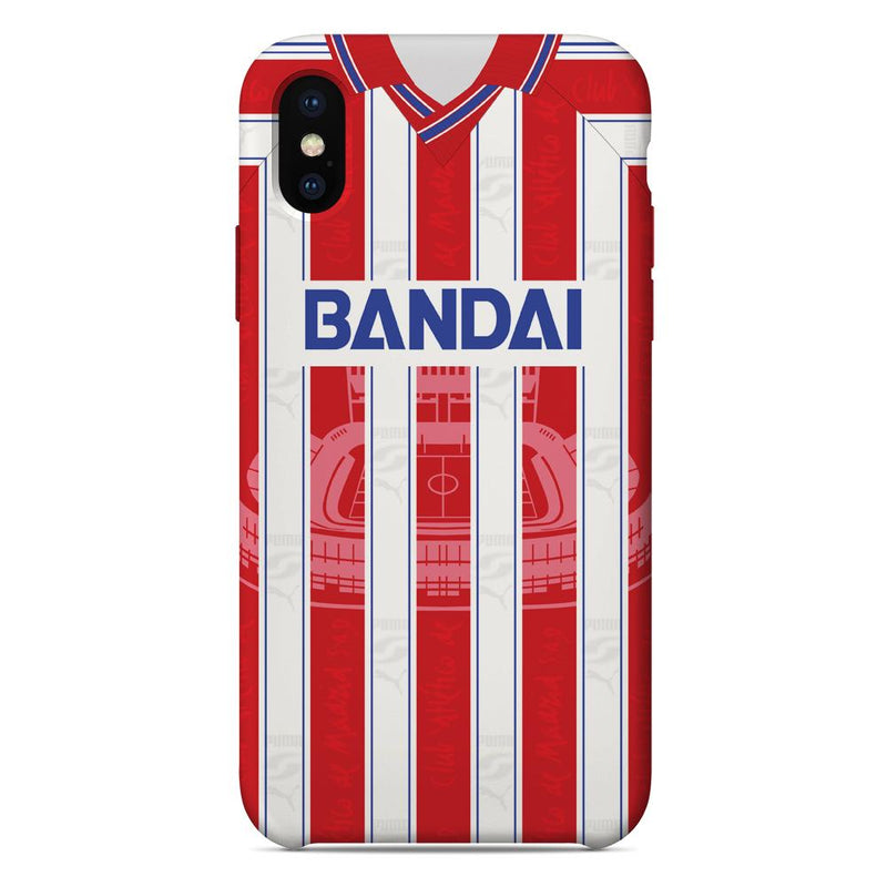 Athletico Madrid 1996/97 Home Shirt Phone Case
