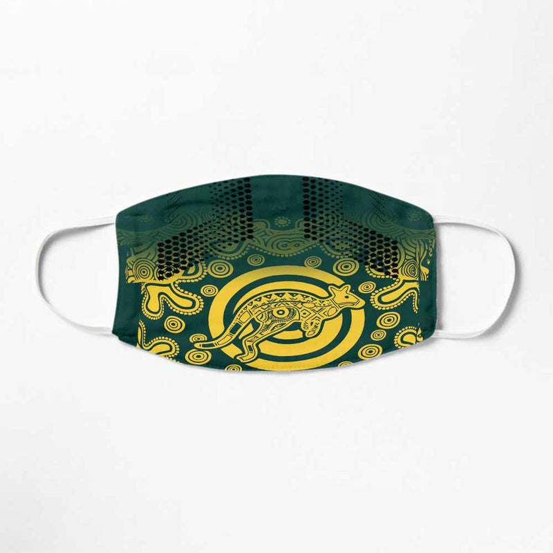 Australia Rugby 2019 Away Washable Face Mask