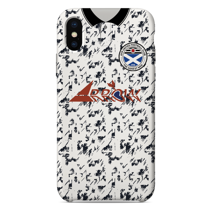 Ayr United F.C. 1992/93 Home Shirt Phone Case