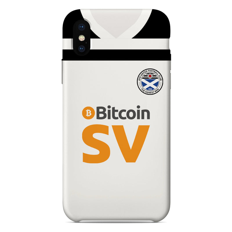 Ayr United F.C. 2019/20 Home Shirt Phone Case