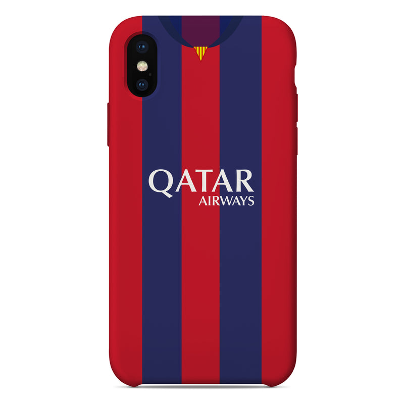 Barcelona 2003/04 Home Shirt Phone Case