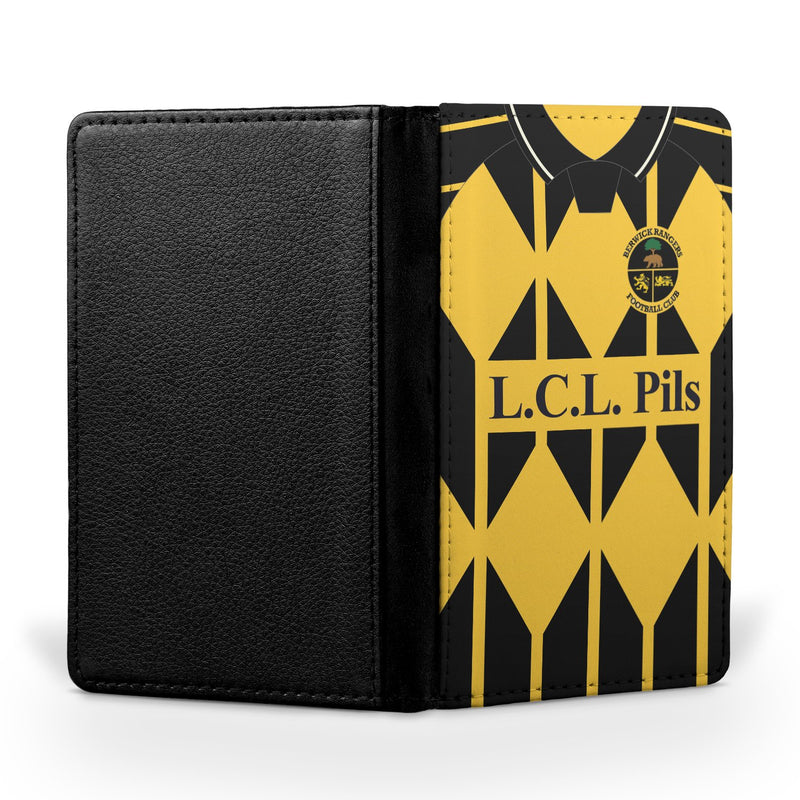 Berwick Rangers F.C. 1996-1998 Home Shirt Passport Case