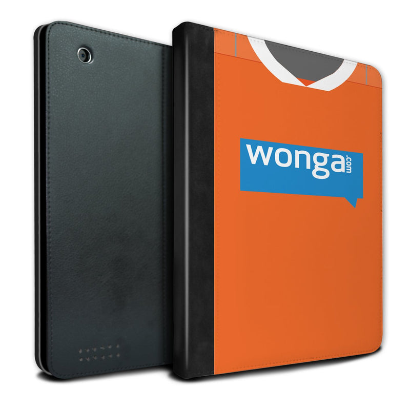 Blackpool 2010-2011 Home Shirt iPad Case