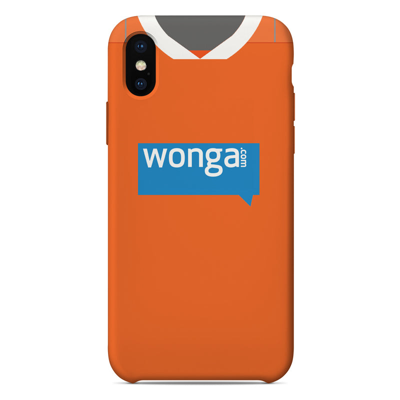 Blackpool 2010/11 Home Shirt Phone Case