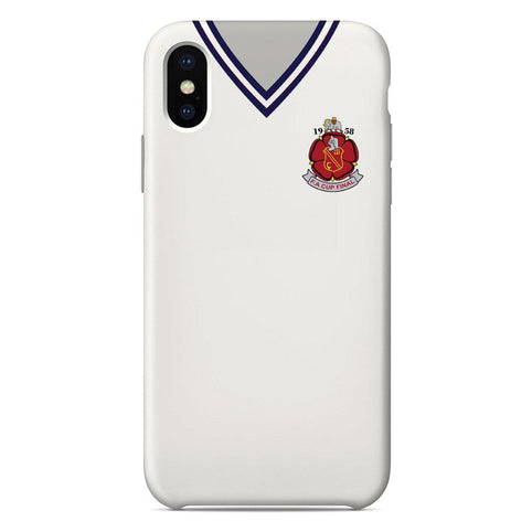 Bolton Wanderers F.C. 1958 Fa Cup Final Shirt Phone Case