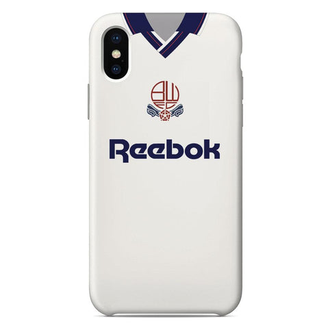 Bolton Wanderers F.C. 1993-95 Home Shirt Phone Case