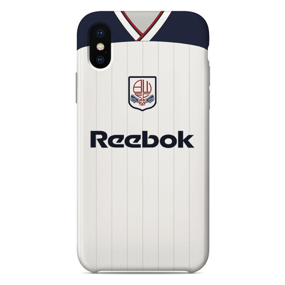 Bolton Wanderers F.C. 1999-01 Home Shirt Phone Case