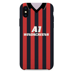 Bournemouth 1990-1992 Home Shirt Phone Case