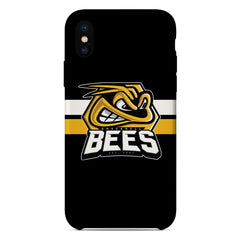 Bracknell Bees Logo Black Design Phone Case