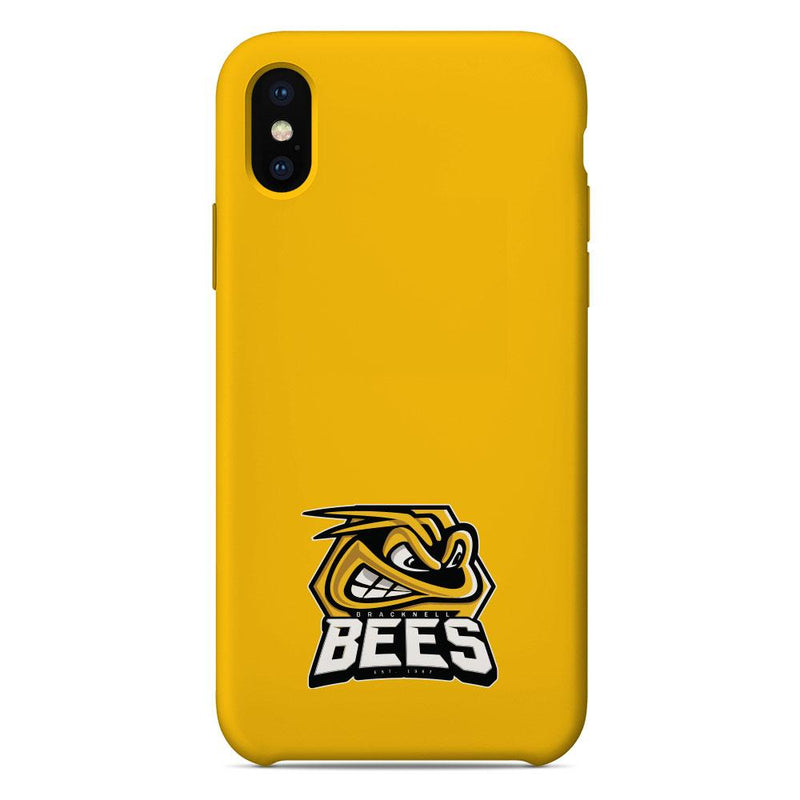 Bracknell Bees Logo Yellow Phone Case