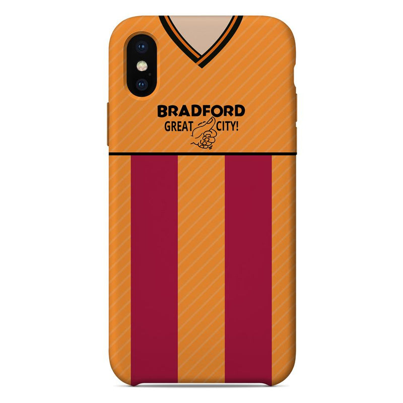 Bradford City 1987/88 Home Shirt Phone Case