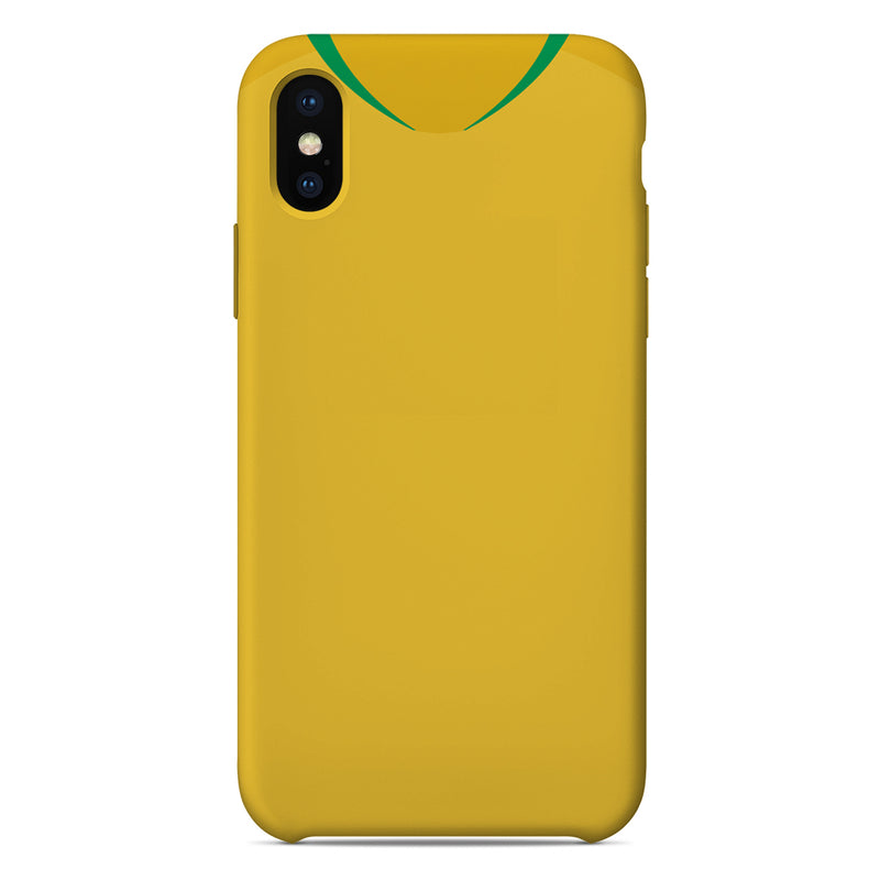 Brazil World Cup 2018 Home Shirt Phone Case