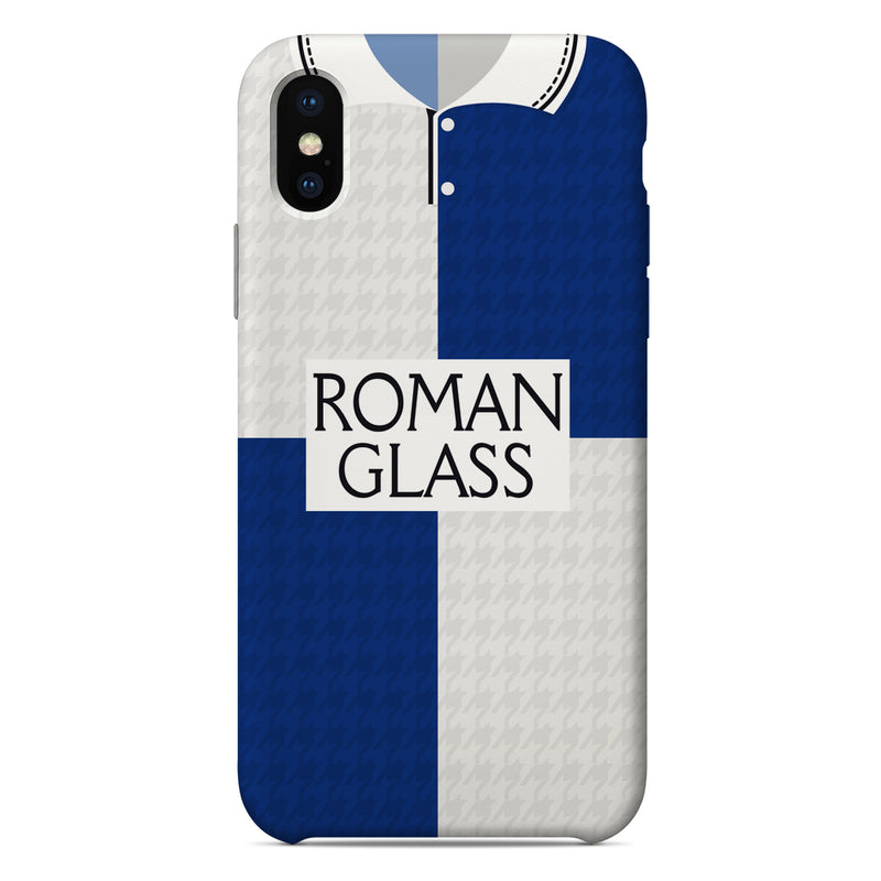 Bristol Rovers 1992/93 Home Shirt Phone Case